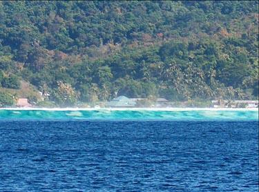 Turisto nuotraukoje - Aziją nusiaubusio cunamio banga