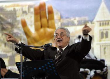 Naujasis palestiniečių lyderis Mahmoudas Abbasas