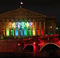 Paryžius pasipuošė olimpine iliuminacija