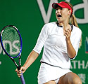 Rusijos tenisininkė Marija Šarapova