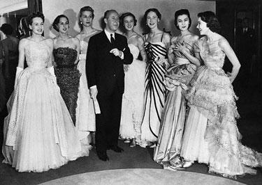 Christian Dior su modeliais