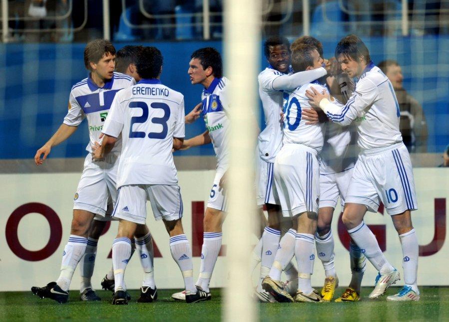 Динамо киев 0- 1 боруссия м автогол хачериди