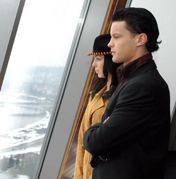 Justinas Duknauskas ir Jekaterina Degtiariova