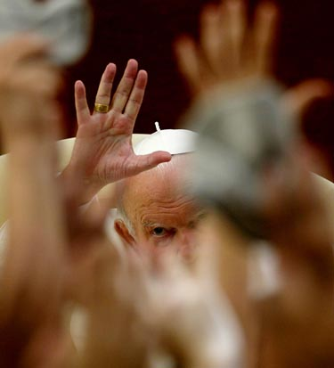 Popiežius Jonas Paulius II, Vatikanas