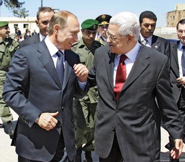 V.Putinas ir M.Abbasas