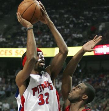 """Richard Hamilton (""""Pistons"""")"""