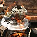 Tarptautinė bonsai ir suiseki paroda Alytus 2005. Keramikos lipdymas ir degimas
