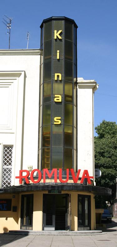 "Kino teatras ""Romuva"" Kaune"