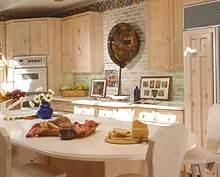 Virtuvė: liaudiškas stilius