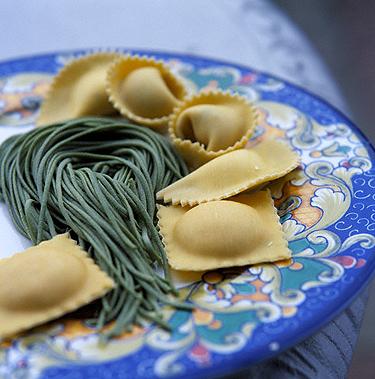Itališkas maistas: koldūnai