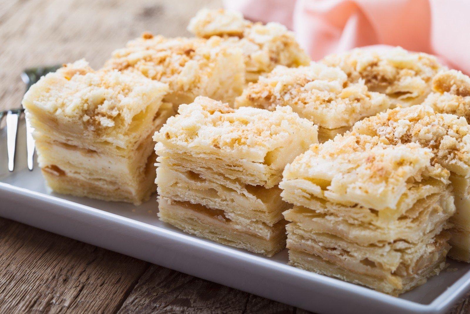 Слоеные торты рецепты с фото