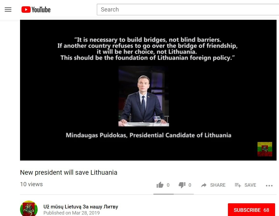How Lithuanian defense minister became a target: cyber and