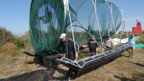 Naujas žvejybos įrankis (I.Labutytės-Atkočaitienės nuotr. / GLIS)