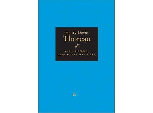Henry Davido Thoreau knygos viršelis