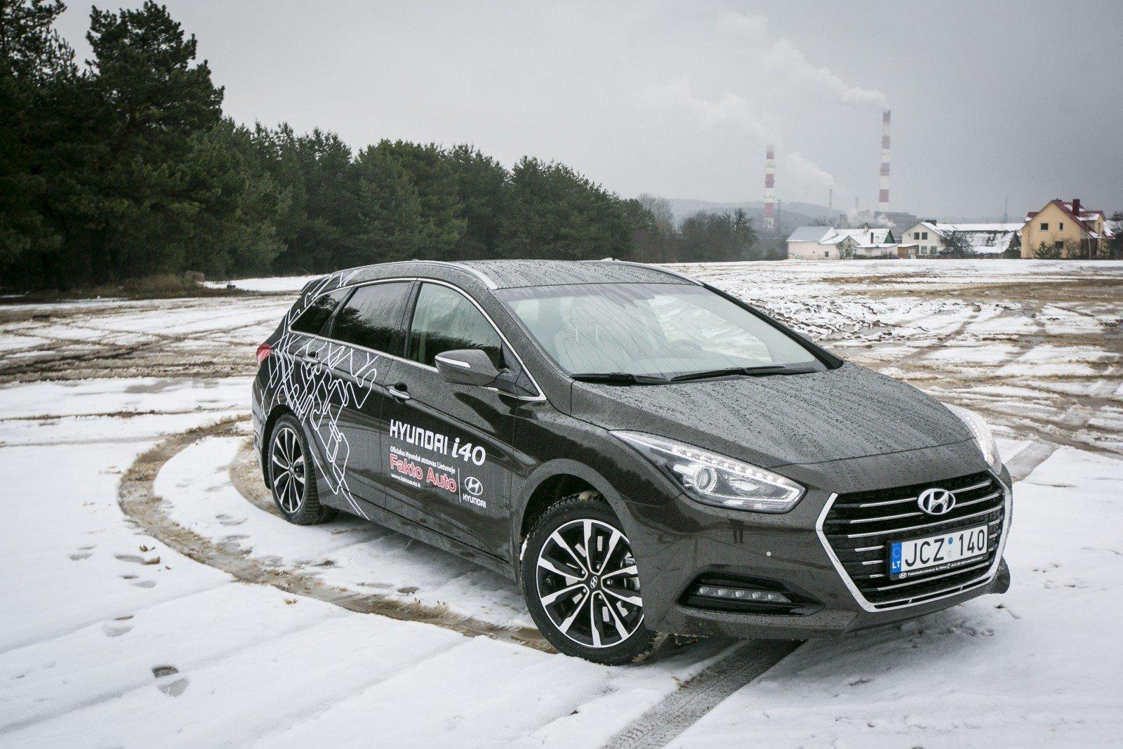 Hyundai i40 problemos