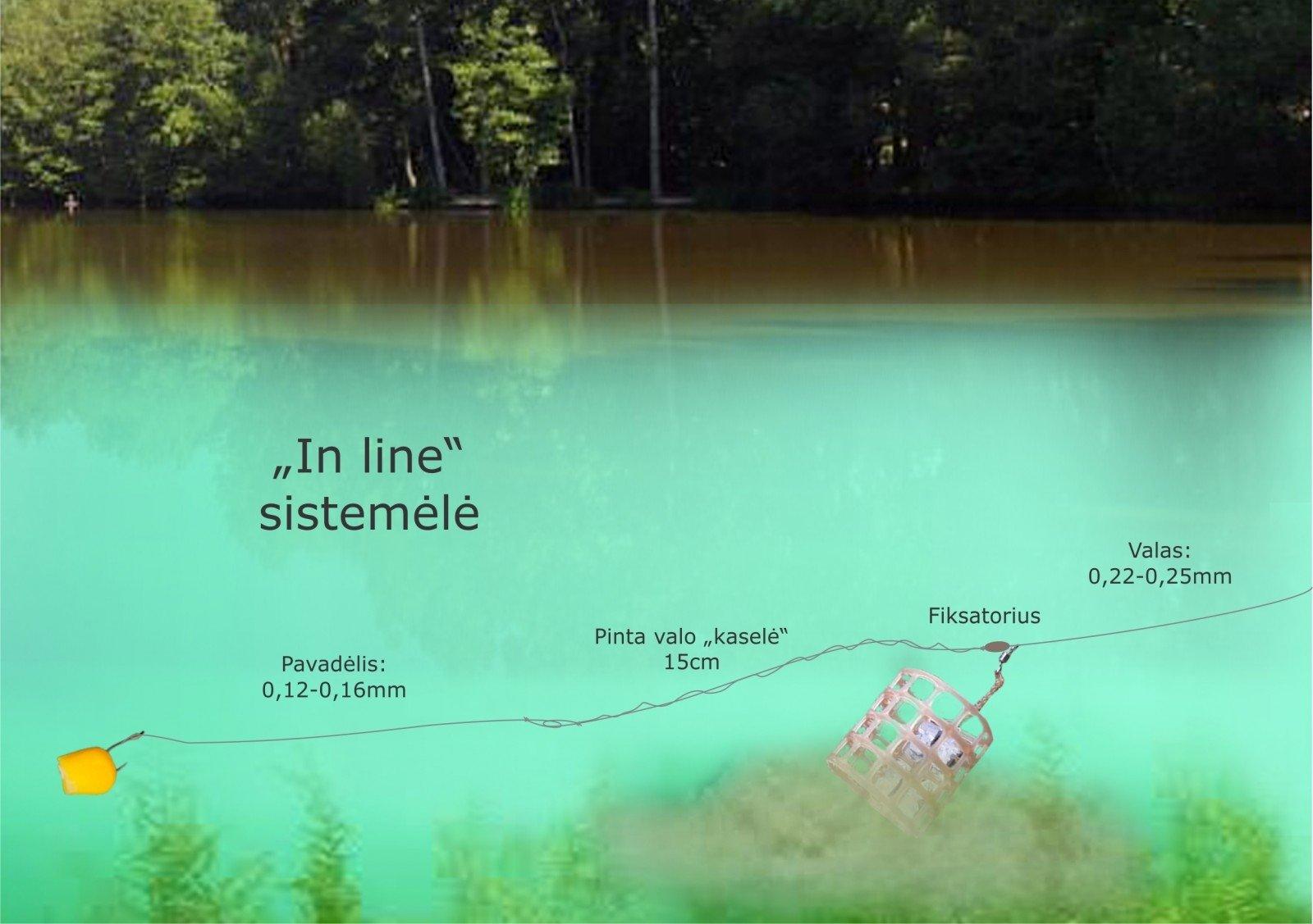 Sistemėlės dugninei ir karpinei žvejybai - Geležinis Lydys