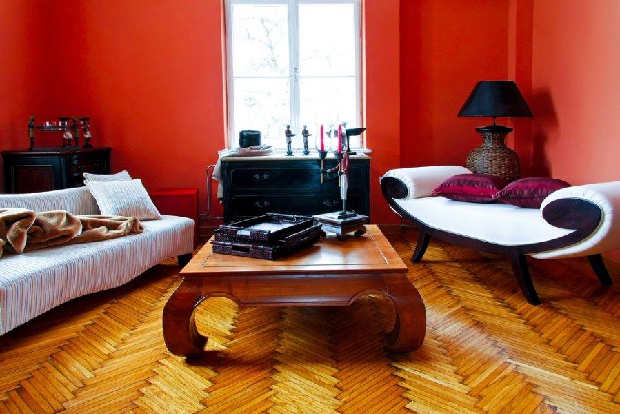 Kaip sukurti retro stili nam interjere foto for Combinaciones de color verde para interiores