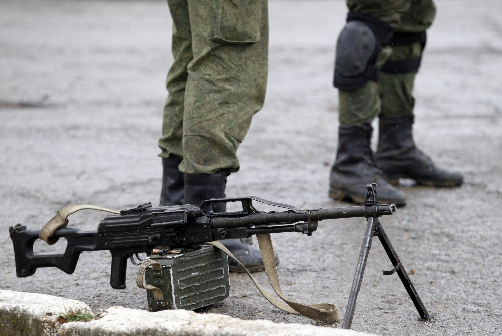 Подозреваемый вдиверсии вКрыму подтвердил, что служил вразведке
