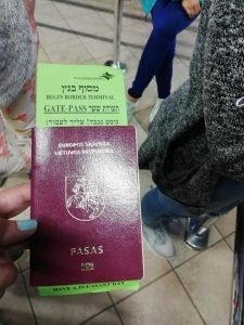 Kelionė iš Egipto į Izraelį galėjo baigtis pasienyje: patarė, kaip nesutrikti