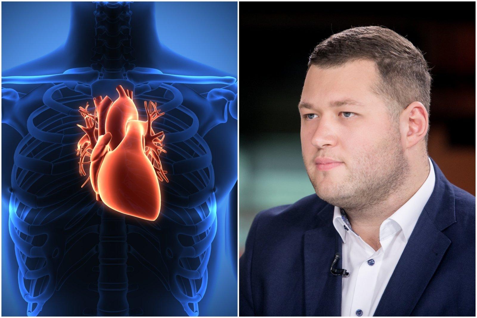 sveikatos įgimti širdies sutrikimai)