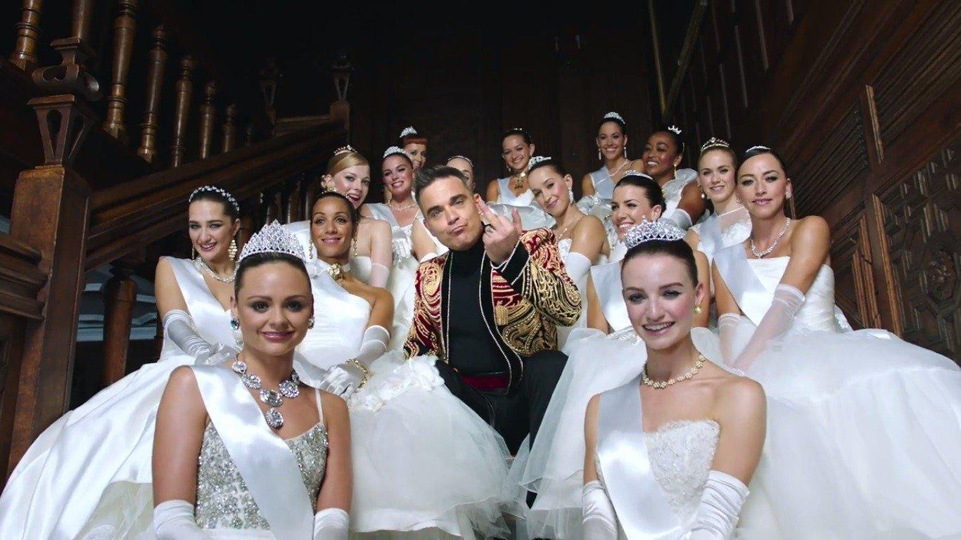 Робби Уильямс зарегистрировался Vkontakte