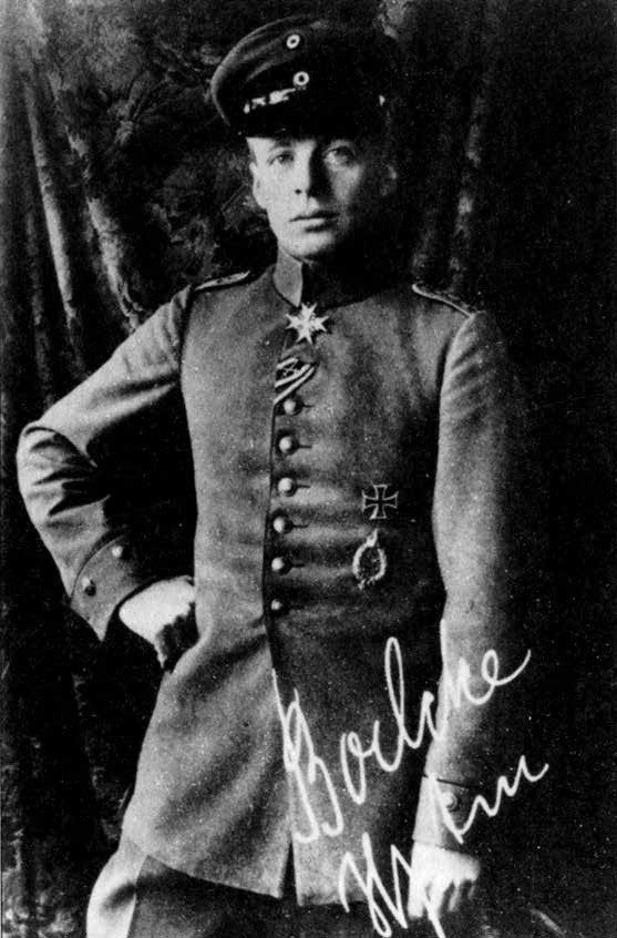 Kapitonas O. Boelckė – pavyzdys, kuriuo sekė Manfredas von Richthofenas