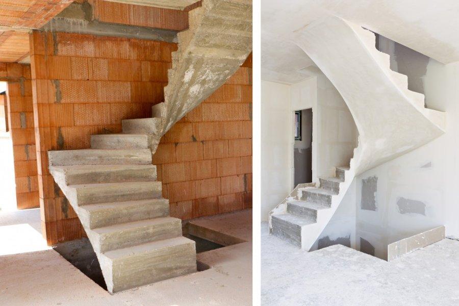 Laiptai namuose kokius sirengti geriausia - Construire un escalier en bois interieur ...