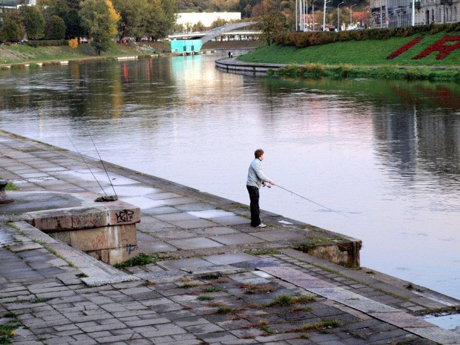 Zvejybos vietos vilniuje