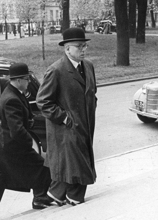 Lietuvos pasiuntinys įgaliotasis ministras Jurgis Šaulys atvyksta į Lenkijos Seimą klausytis užsienio reikalų ministro pranešimo, 1939-05-05