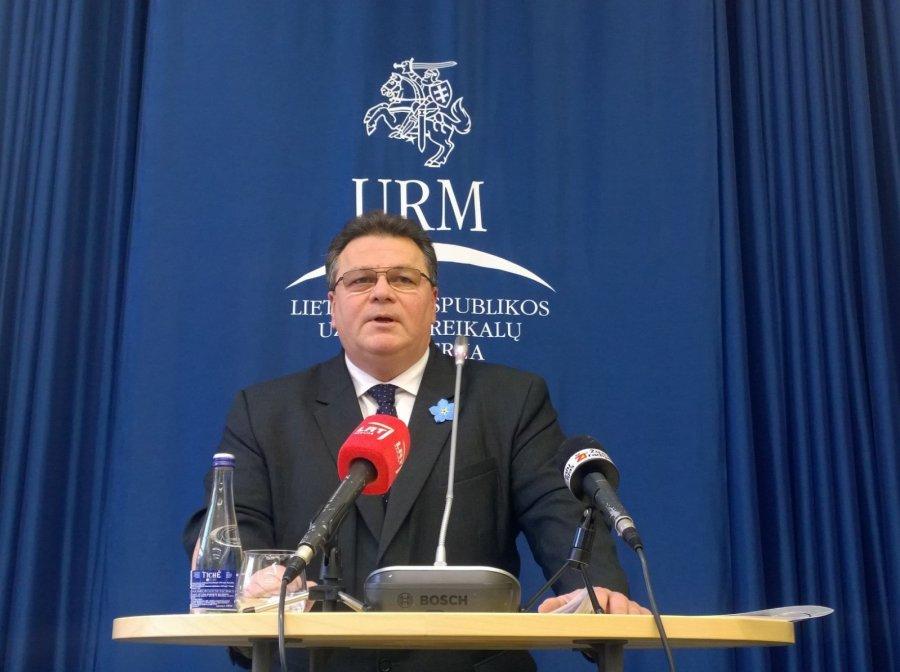Глава МИД Литвы: электроэнергию небезопасных АЭС покупать не будем