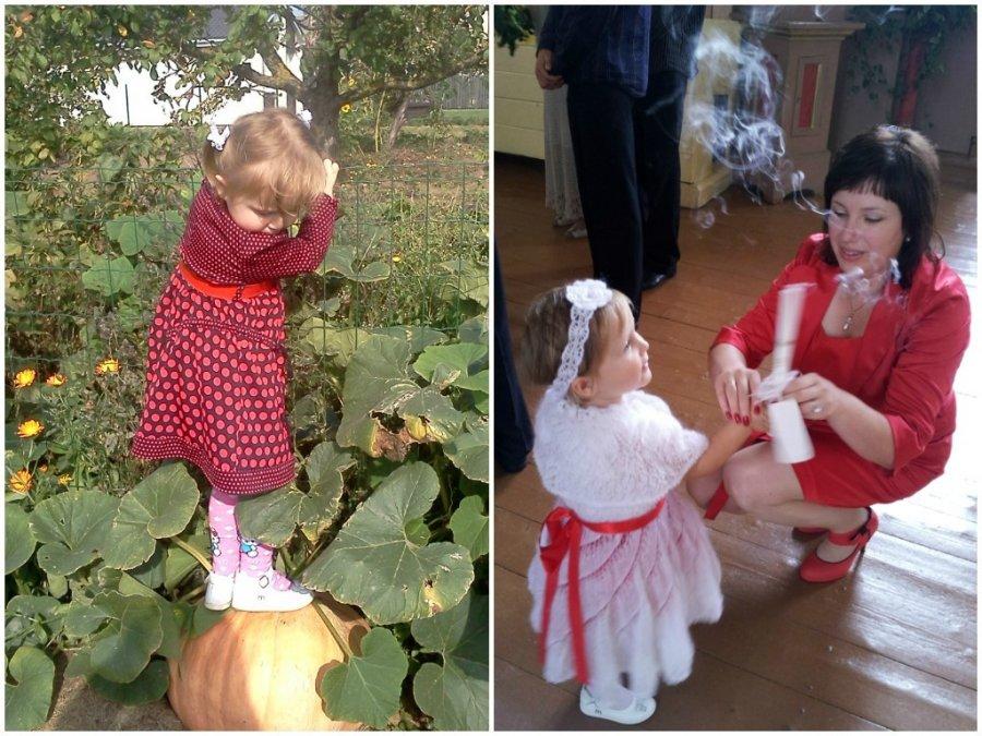 maža mergaitė turi didelę varpą)