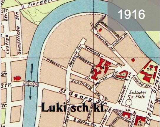 Lukiškių kalėjimas - 1916