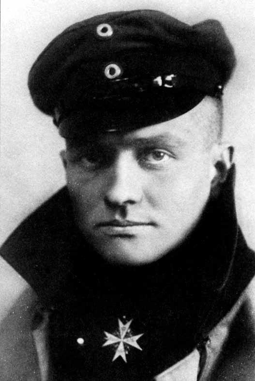 "M. von Richthofenas – garbingo Pour le Mérite (""Už nuopelnus"") ordino kavalierius"