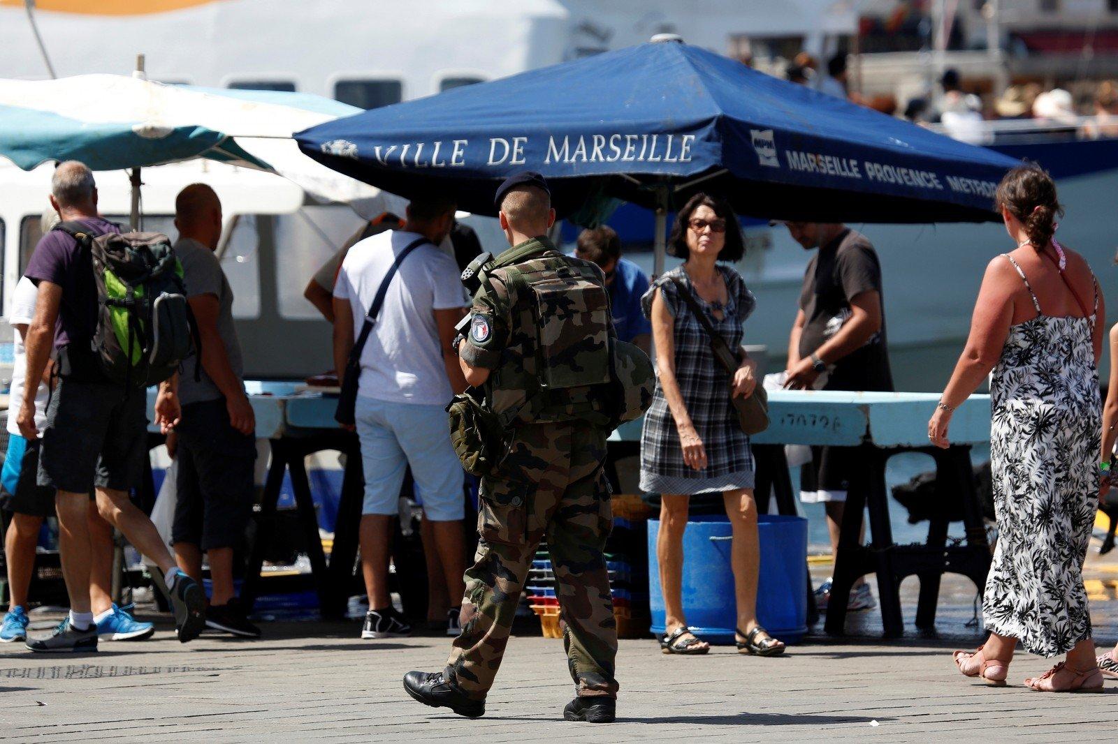 Французская милиция  задержала подозреваемых вподготовке теракта