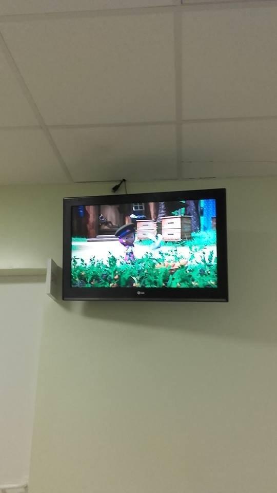 """Akibrokštas poliklinikoje: vaizdas filmuke """"Maša ir lokys"""" atėmė žadą"""