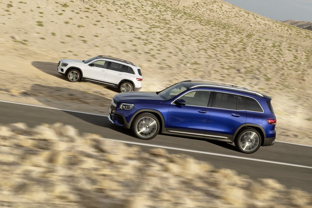 Mercedes Benz Presented The Second Compact Suv It Has 7 Seats