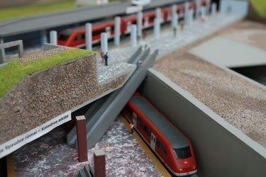 Vilniuje planuojamo metro maketas