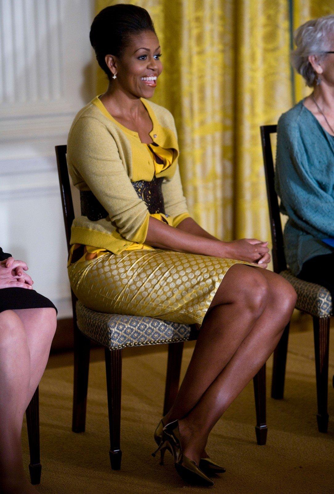 Ivanka Trump Malia Obama >> Michelle Obama: 8 stilingi metai Baltuosiuose rūmuose