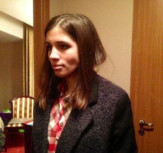 Участница Pussy Riot Надежда Толоконникова освобождена по амнистии