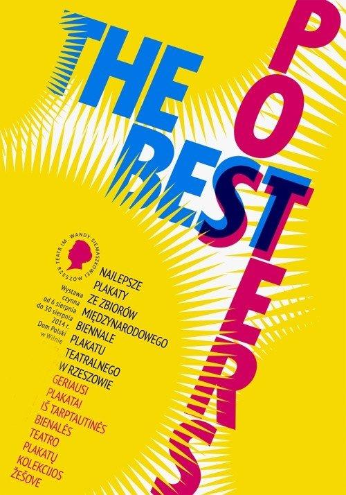 Najlepsze plakaty ze zbiorów międzynarodowego Biennale  plakatu teatralnego w Rzeszowie