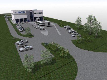 Naujo techninių apžiūrų centro projektas