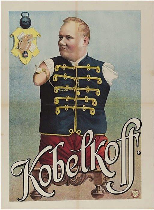 Nikolajaus Kobelkovo pasirodymo afiša