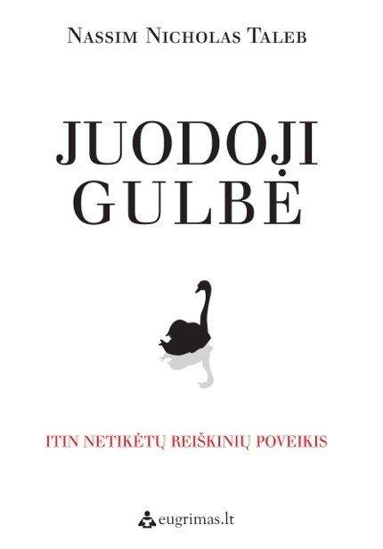 N.N. Talebo knygos Juodoji gulbė viršelis