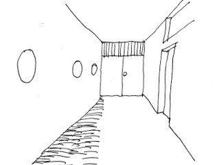 """Koridoriai, sukurti pagal mašinos logiką, vartotojams kelia neigiamas emocijas: ,,Ši erdvė šalta ir nuteikia depresyviai; noriu kuo skubiau iš čia išeiti."""""""