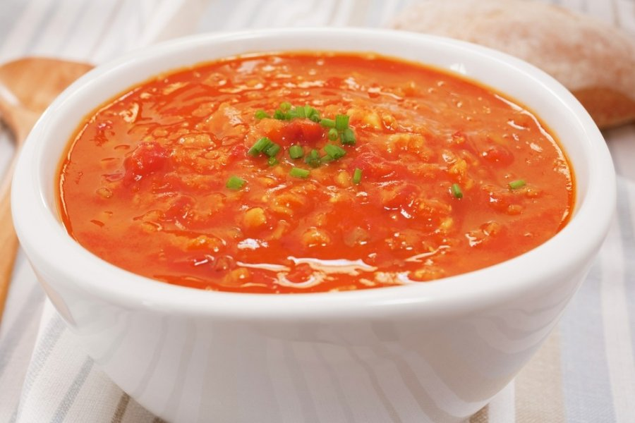 Pomidorinė Lęšių Sriuba 1000receptųlt