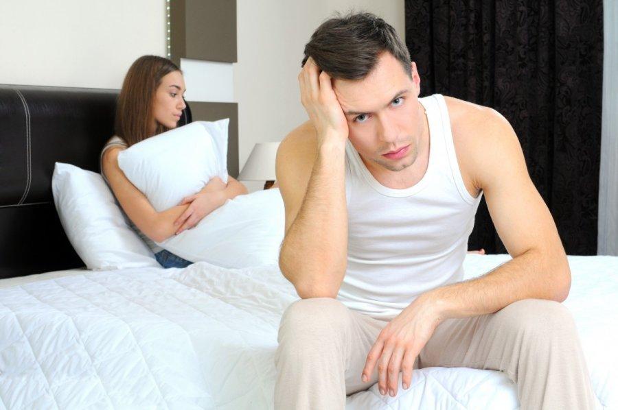 vyrų ir moters pojūčių erekcija