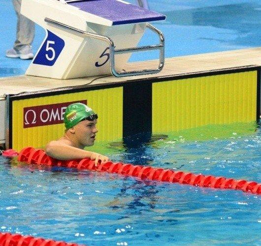 R. Meilutytė iškovojo pirmą jaunimo olimpinių žaidynių aukso medalį, P. Strazdas – sidabro
