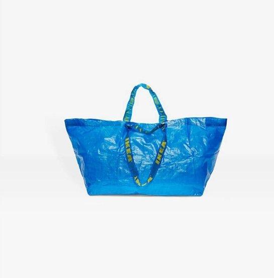 """""""Ikea"""" maišas virto prabangia rankine, kurią įpirkti galės vienetai"""