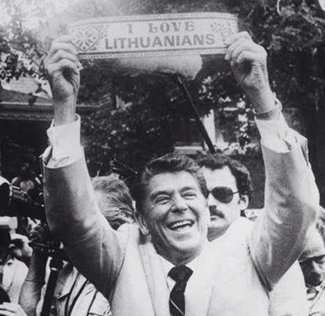 Ronaldas Reaganas Lietuvoje