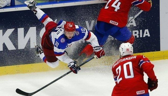 РФ разбила Норвегию ивышла напервое место